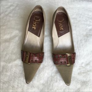 Dior Pointy Toe Heels Size 36